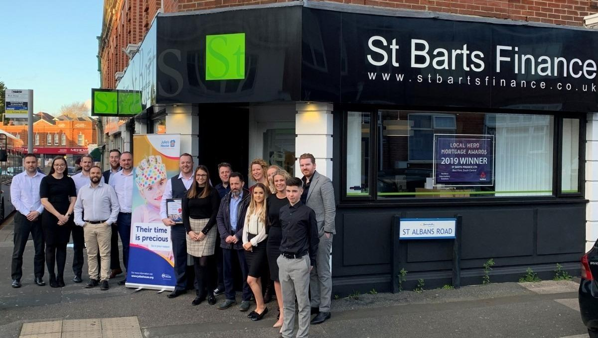 St Barts finance team